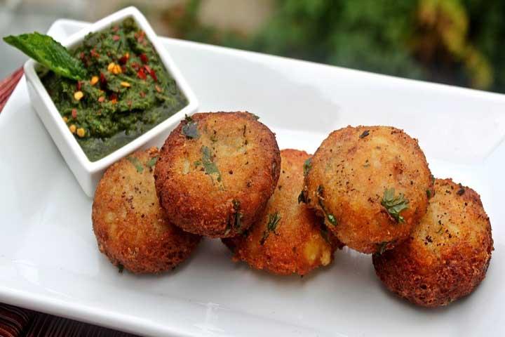 Crunchy Aloo Tikki