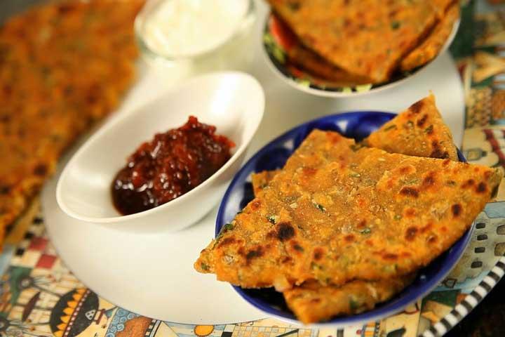 Yummy Dal Paratha