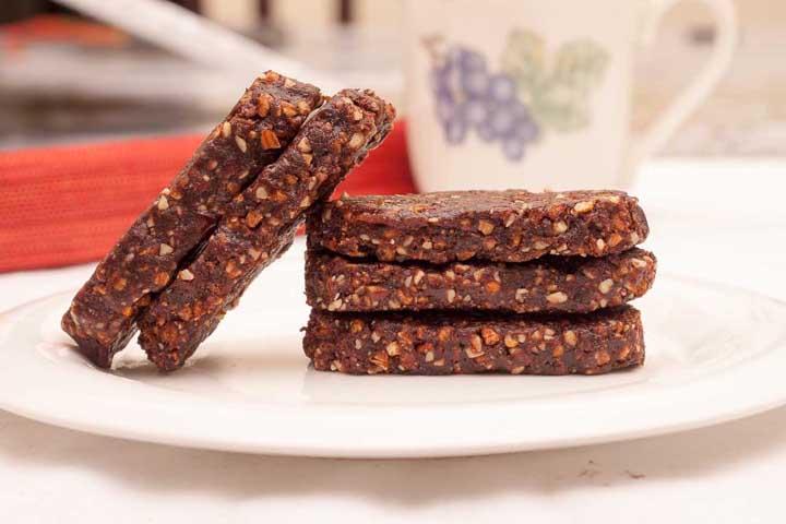 Date & Nut Chocolate Bars