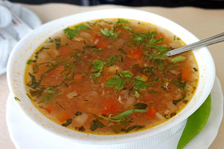 Delicious Mixed Vegetable Soup