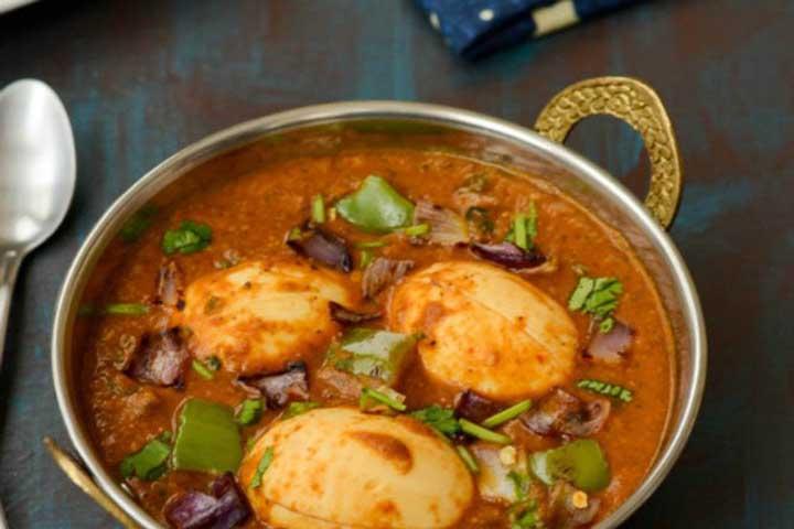 Egg Capsicum Curry