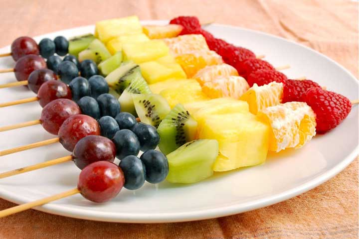Fruit Kebab for your Baby