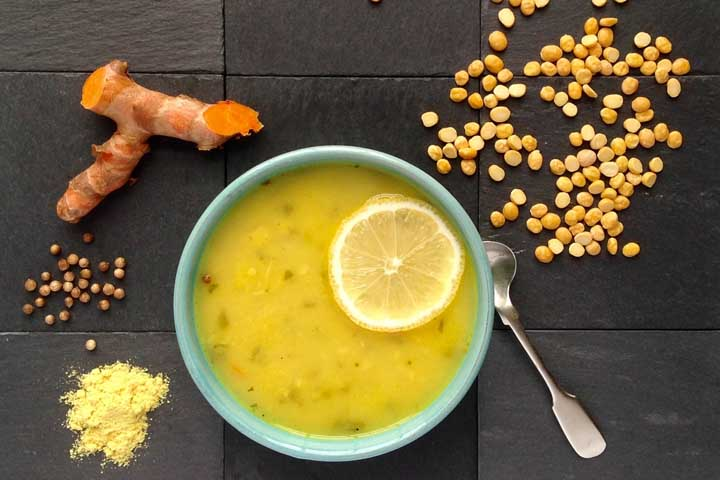 Fruit and Dal Soup