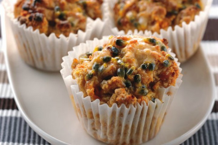 Fruit and Veggie Smoothie Muffin