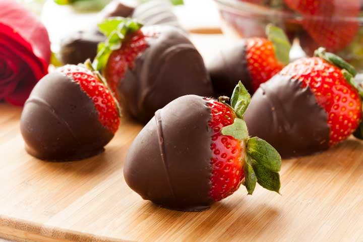 Tasty Chocolate Covered Strawberries