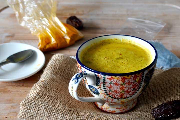 Hot Turmeric Drink Full Of Medicinal Benefits