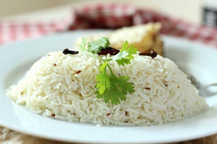 Delicious Jeera Rice