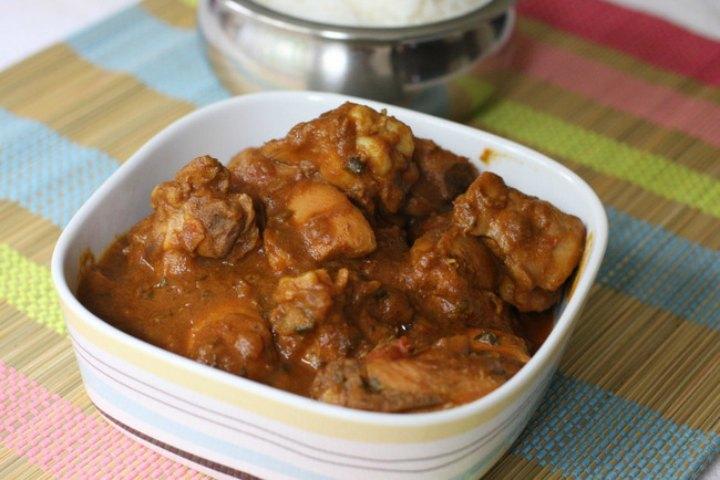 Kongu Chicken Curry