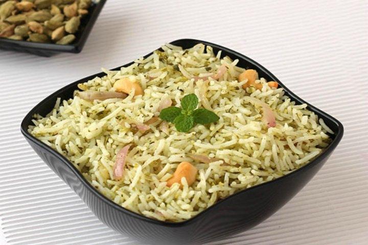 Lemon Pudina Rice