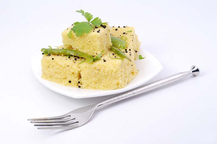 Maize Flour Dhokla