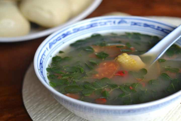 Moringa Leaves Soup