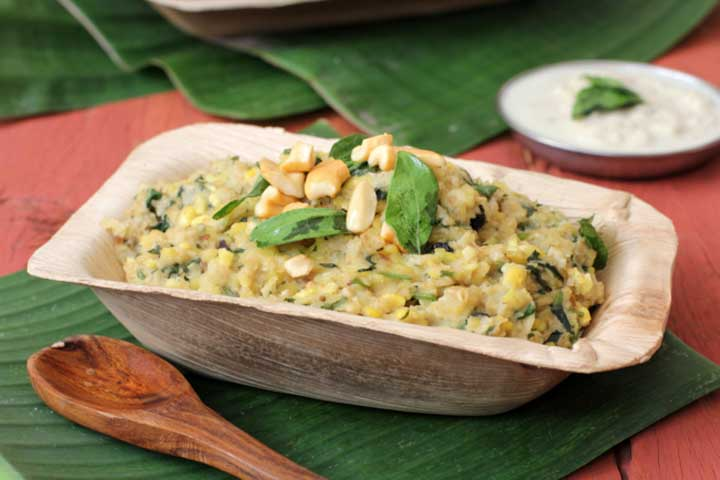 Healthy Oats Pongal