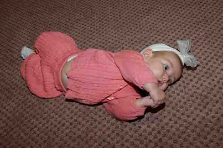 Your Baby's Movements are Gearing as he Now Rolls Over!