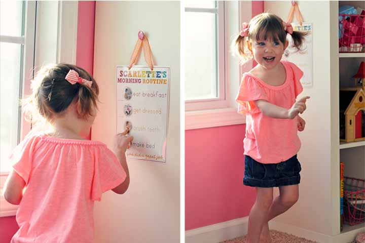 Your Child Is Ready To Follow Routines !
