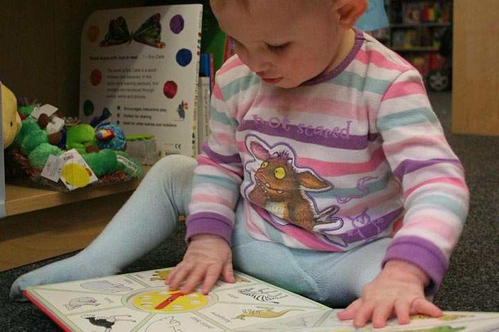 Your Little One Can Now Turn Picture Book Pages One At A Time