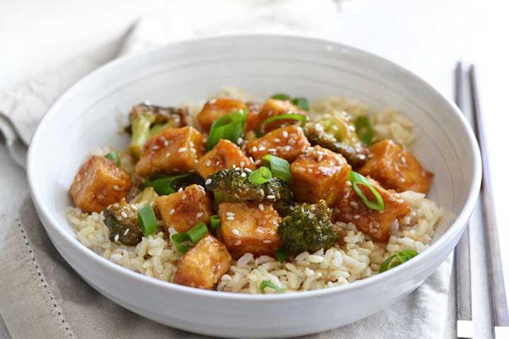 Pan Fried Tofu