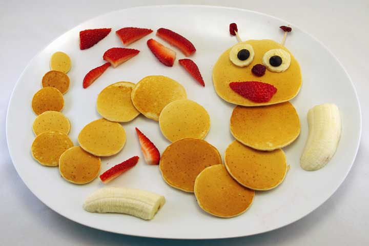 Pancakes for Your Little One