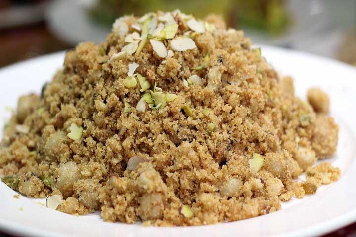 Panjiri - North Indian Sweet Dish