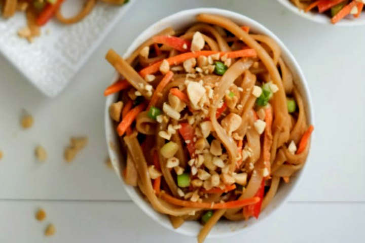 Peanut Sesama Noodles