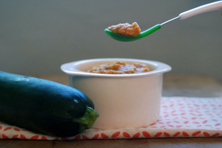 Ratatouille Puree For Your Little One