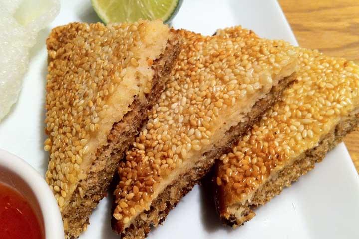 Sesame Toast