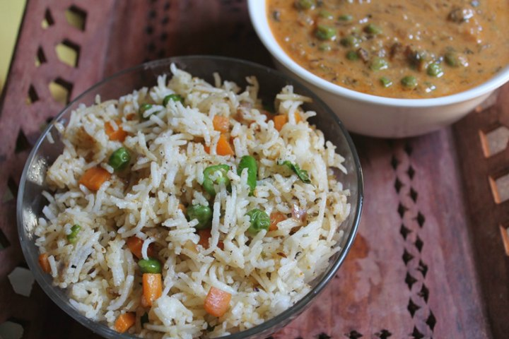 Soft Vegetable Yummy Pulao