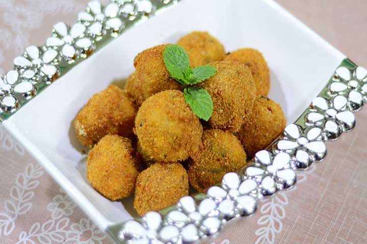 Delicious Sooji Balls