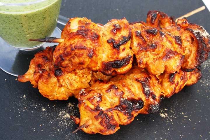 Spicy Chicken Tikka Kebab
