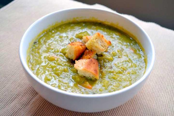 Split Pea Vegetable Soup