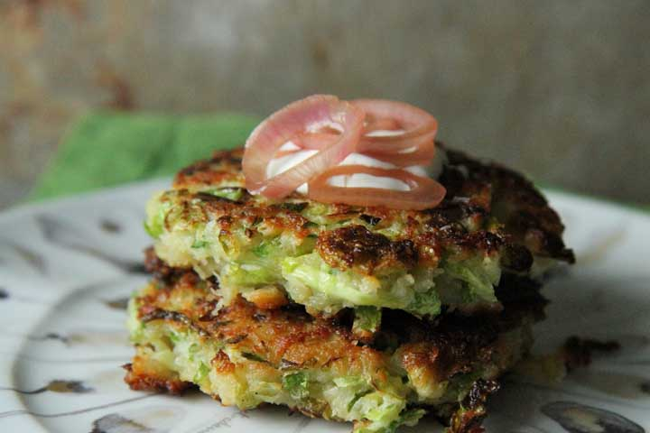 Yummy Sprouts Fritters