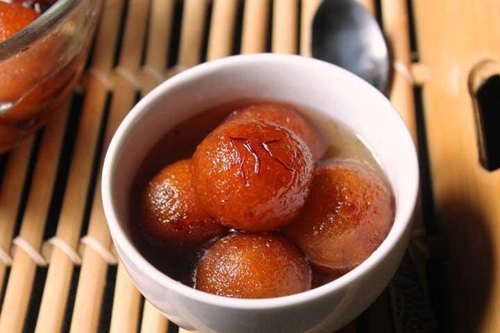 Melt-in-your-Mouth Sweet Potato Gulab Jamun