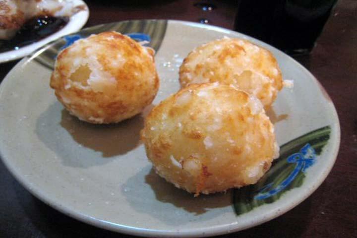 Sweet Corn Cheese Potato Balls