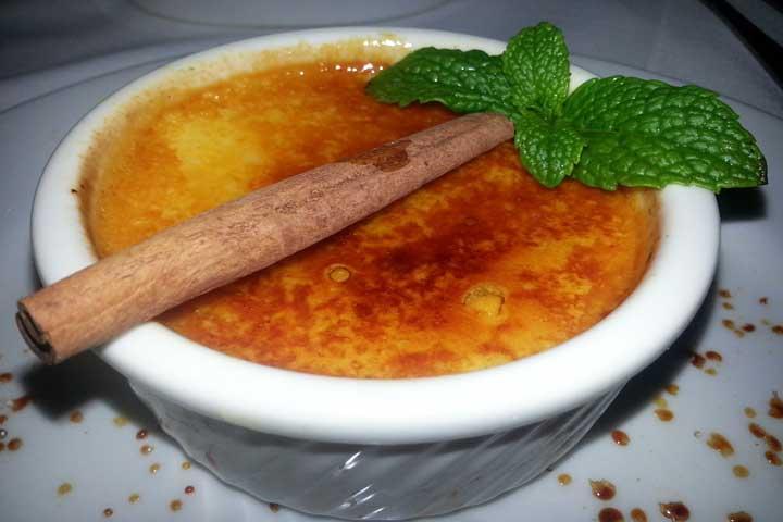 Sweet Potato Crème Brulee