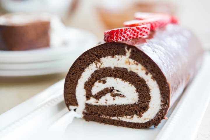 Super Yummy Swiss Roll!