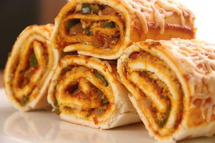 Tasty Microwave Paneer Cheese Rolls