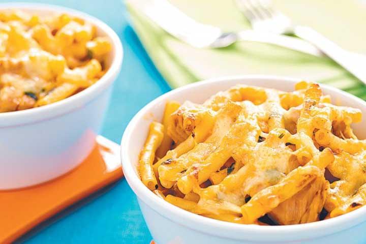 Tuna and Cremed corn Macaroni