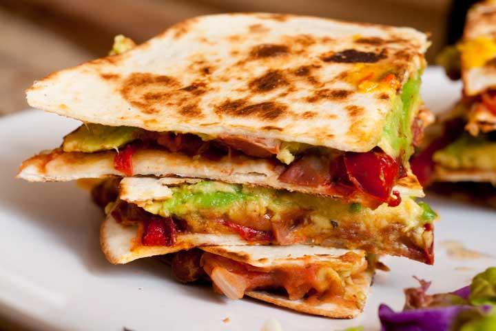 Delicious Veg Quesadillas!