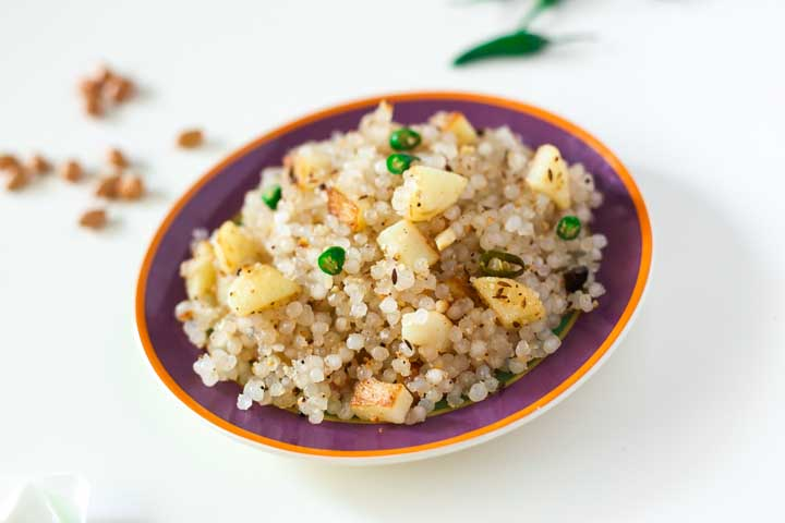 Vegetable Sabudana Khichdi