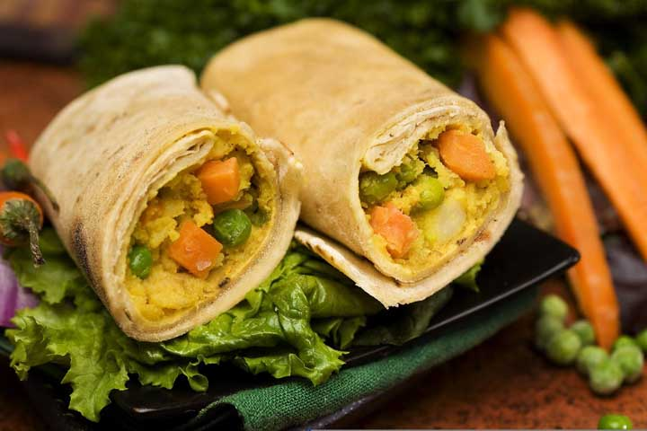 Yummy Wheat Veggies Rolls For Your Child!