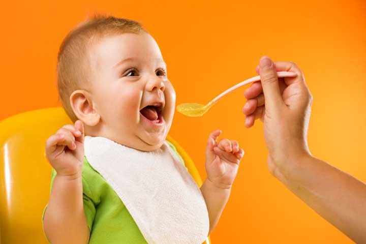 Your Baby Can Now Swallow Strained And Pureed Food
