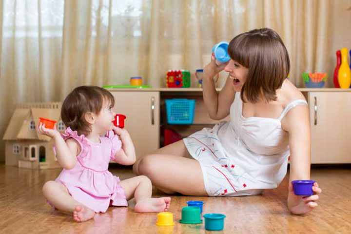 Your Baby Is Likely To Enjoy Playing With You Or Her Caregiver
