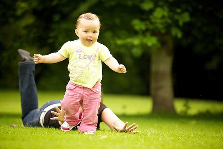 Your Baby Is Likely To Start Running