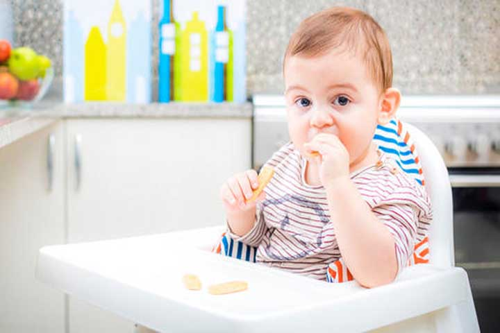 Your Baby Feeds Himself Now