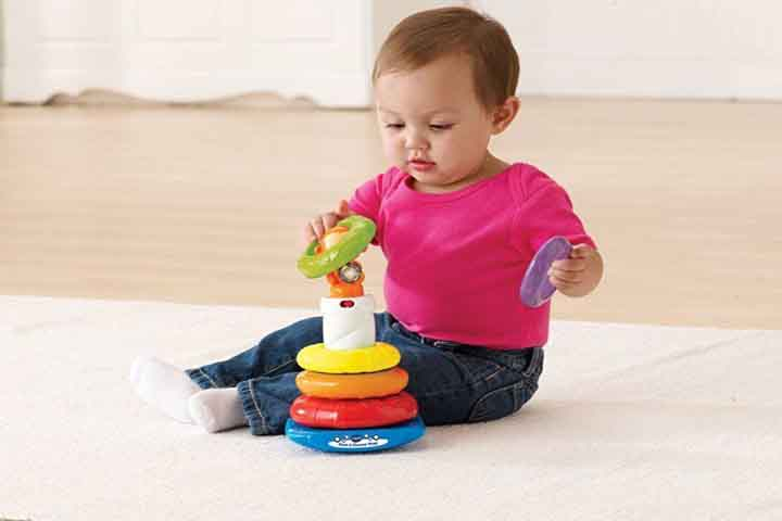 Your Baby Is Now Able To Stack Toys Correctly
