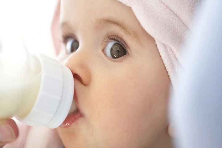 Your Baby Has Anticipations Now, Like Sucking When He Sees a Bottle