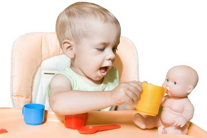 Your Baby Will Imitate Your Actions During Play