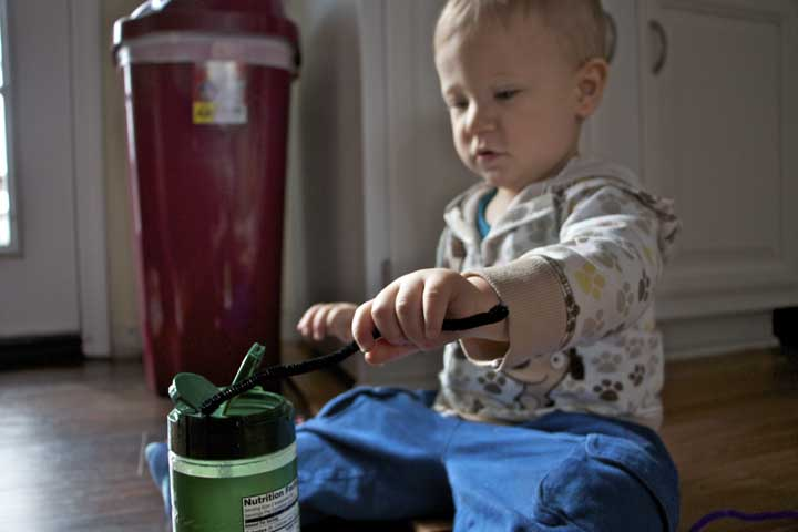Your Child Can Now Take Objects Out Of Containers