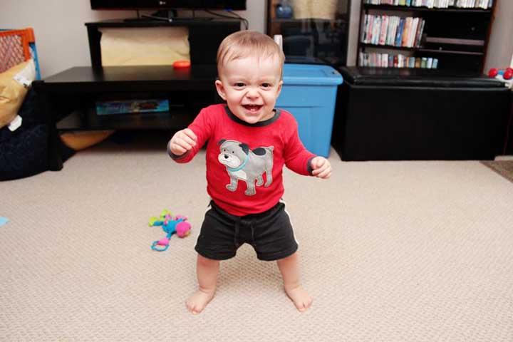 Your Child Can Slowly Start Walking Backwards