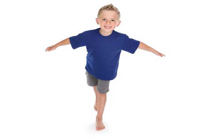 Your Child Is Likely To Stand On One Foot Without Falling For A Few Seconds