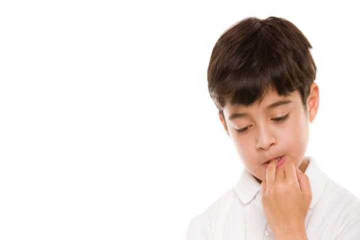 Your Child May Develop Certain Nervous Habits Now